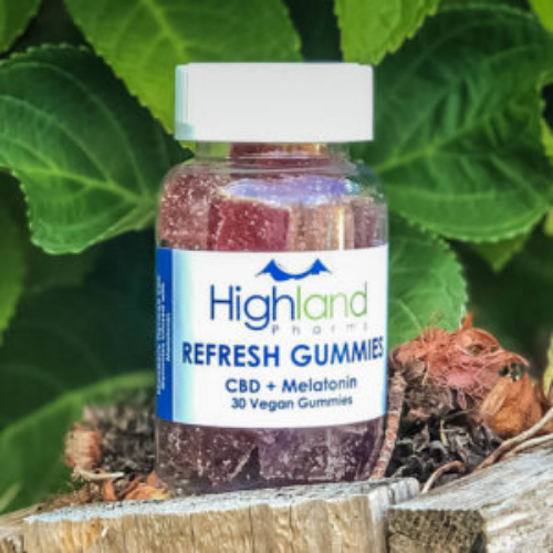 Refresh CBD Gummies with Melatonin