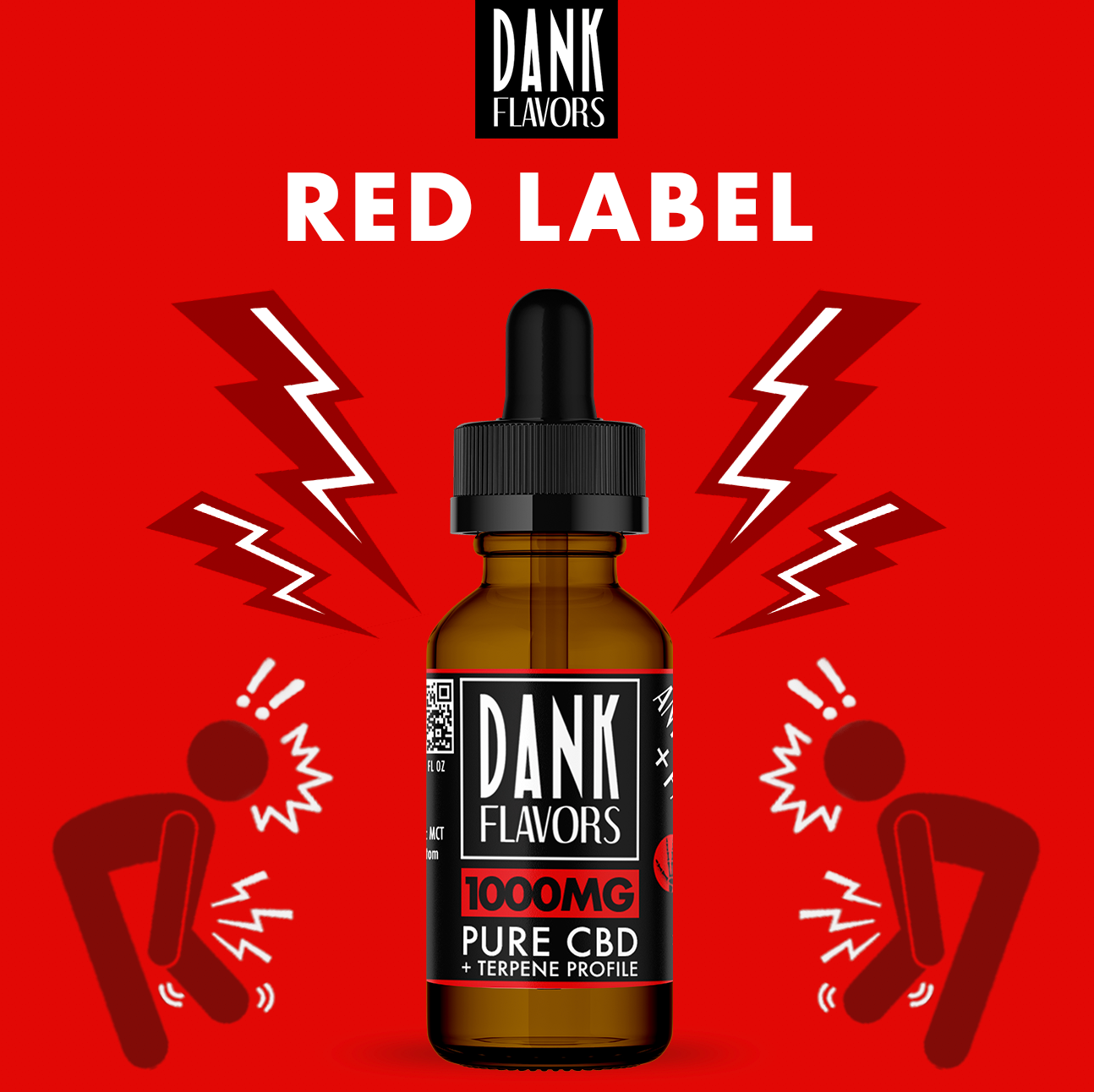 Dank Flavors CBD | Red Label