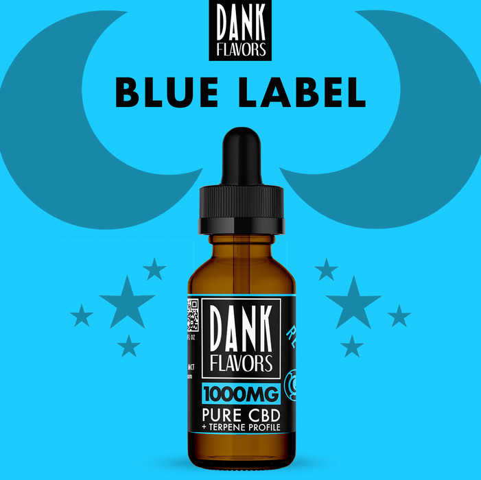 Dank Flavors CBD | Blue Label