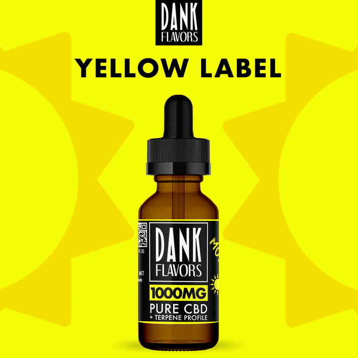 Dank Flavors CBD | Yellow Label