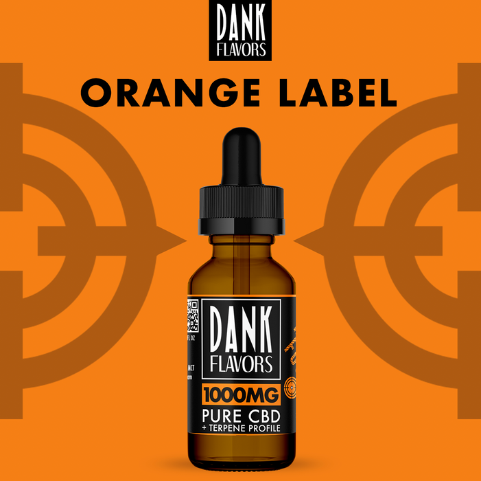 Dank Flavors CBD | Orange Label