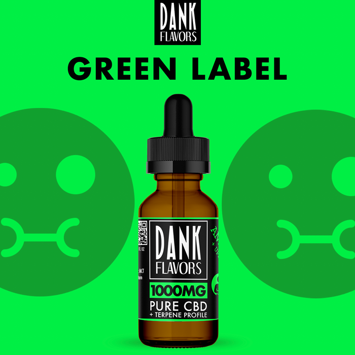 Dank Flavors CBD | Green Label