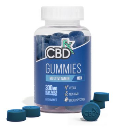 CBDFx CBD Gummies with Multivitamin For Men