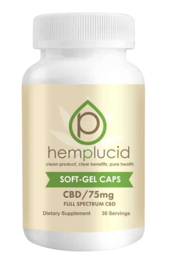 Hemplucid Full-Spectrum CBD Soft-Gel Capsules