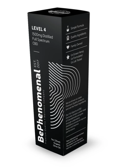 Be Phenomenal DISTILLED FULL SPECTRUM TINCTURE | 300mg to 1500mg