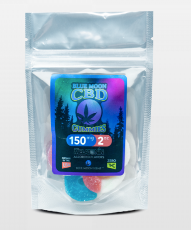Blue Moon CBD Gummies with Melatonin