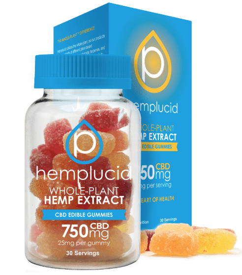 Hemplucid Edible Gummies 30ct | 750mg
