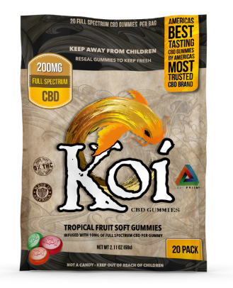 Koi CBD Tropical Gummies