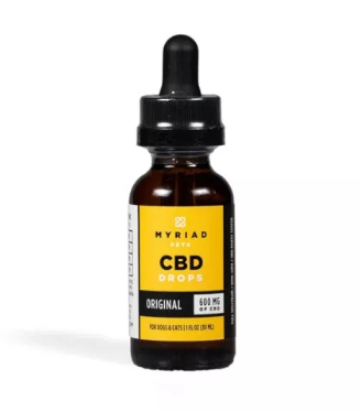 Myriad Pet CBD Drops | 300mg to 1200mg