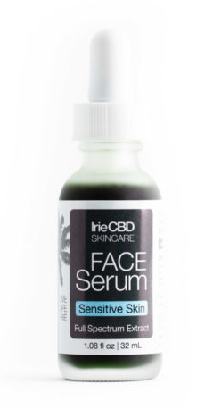 IrieCBD Oil Face Serum for Sensitive Skin