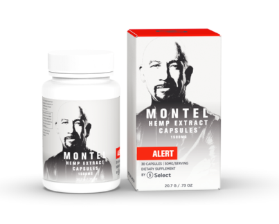 Alert – Montel by Select CBD Capsules | 50mg each