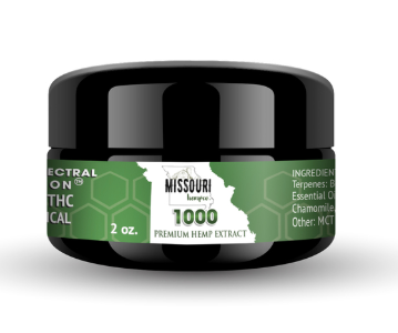 Missouri Hemp Co Salve 1000 Mg 2 oz
