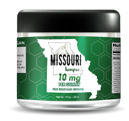 Missouri Hemp Co Gummies Vegan Organic
