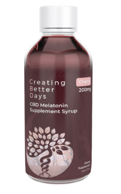 Nano-CBD Cherry Melatonin Syrup 200mg