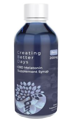 Nano-CBD Blueberry Melatonin Syrup 200mg