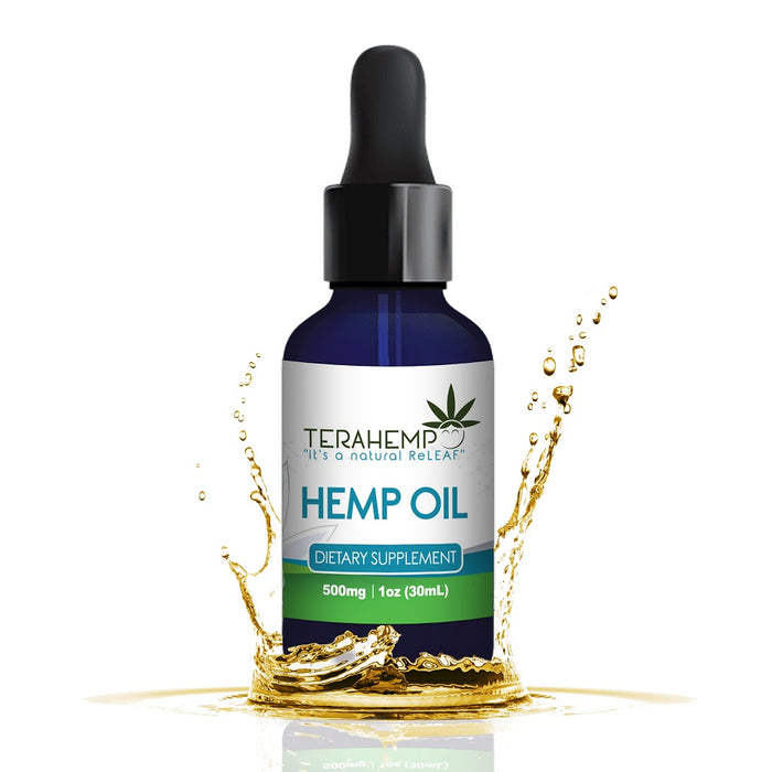 Terahemp Hemp Oil | 250mg to 2000mg