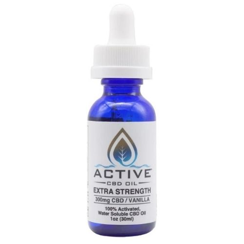 Water Soluble Broad Spectrum CBD Oil Tincture