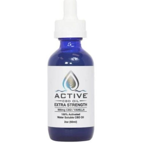 Water Soluble Broad Spectrum CBD Oil Tincture - Extra Strength