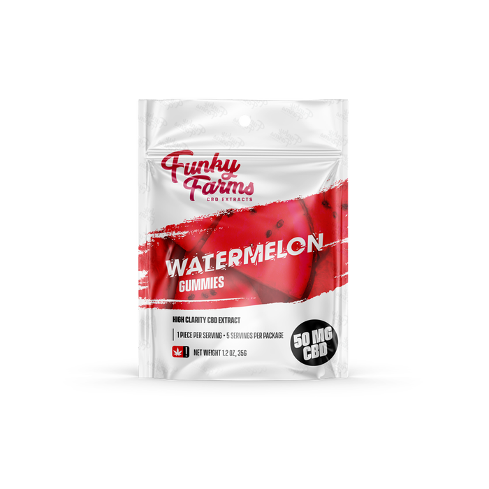Funky Farms Watermelon Gummies 5 pack | 10 count box