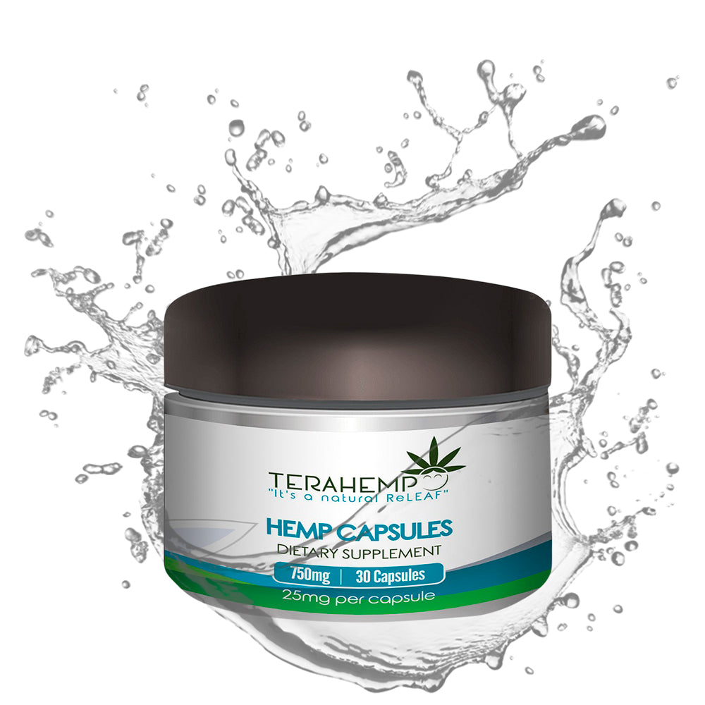 Terahemp Pain Relief Pills | 750mg