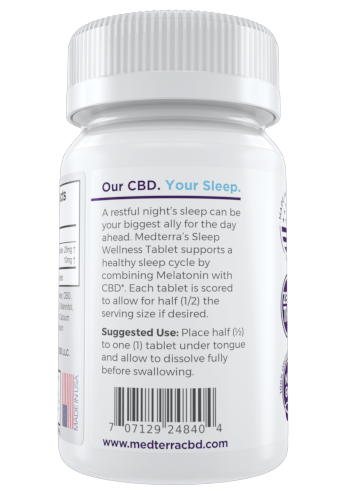 Medterra MedOil Sleeping CBD Pills