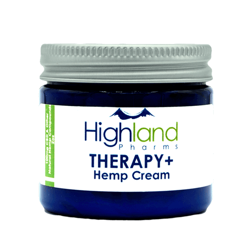 Highland Pharms - Therapy + Hemp Cream - CBD Discount Shop