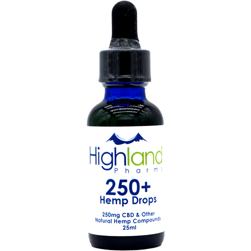 Highland Pharms CBD Hemp Oil - 250mg to 1250mg - CBD Discount Shop