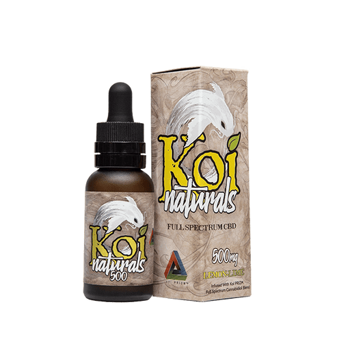 KOI Natural CBD Lemon Lime
