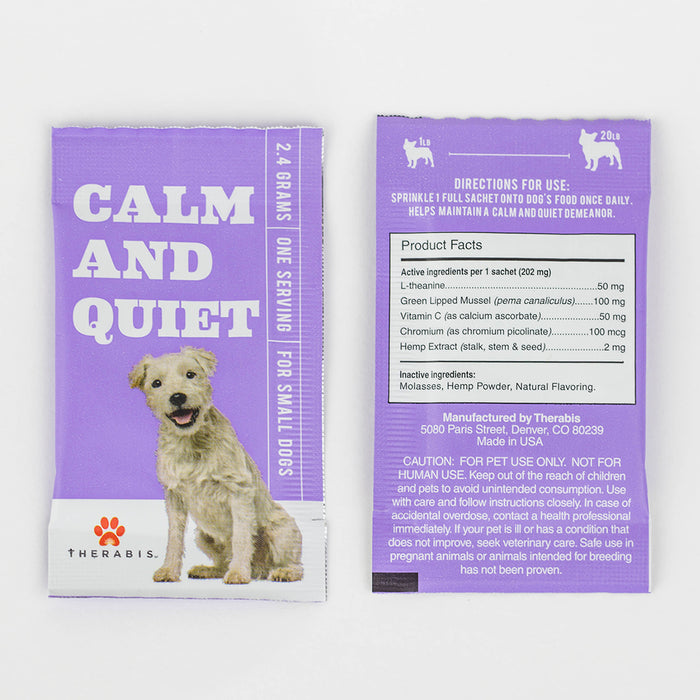 Therabis Hemp for Pets 'Calm and Quiet'