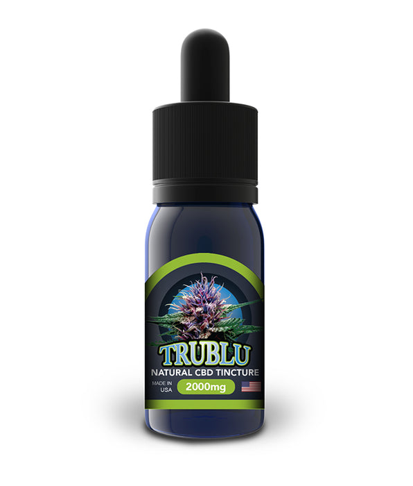 Blue Moon Tru Blu CBD Tincture - Natural - 100mg to 3000mg - CBD Discount Shop