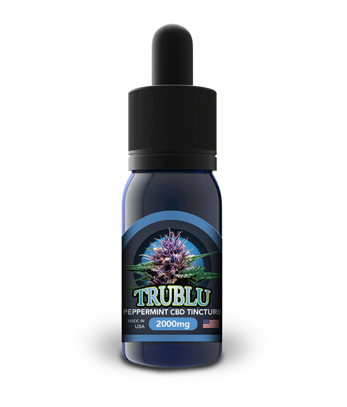 Blue Moon Tru Blu CBD Tincture - Peppermint - 100mg to 3000mg - CBD Discount Shop