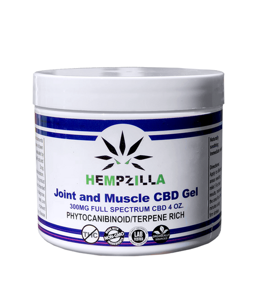 Hempzilla CBD Muscle Gel | 300mg