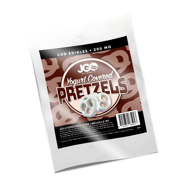 Jolly Green CBD Pretzels | 200mg