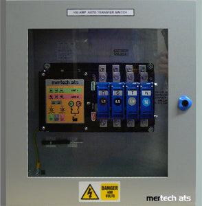 Utility Auto Transfer Switch - Class PC - 4 Pole Using Motorised Switch