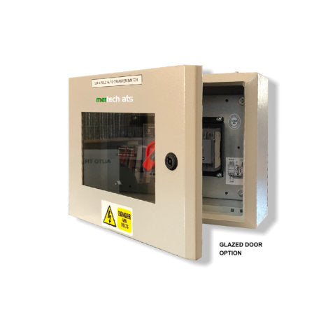 Budget Auto Transfer Switch - Class CB - 4 or 2 Pole Using Motorised MCBs