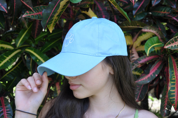 Baby Blue Baseball Hat
