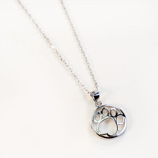 Silver Logo Necklace