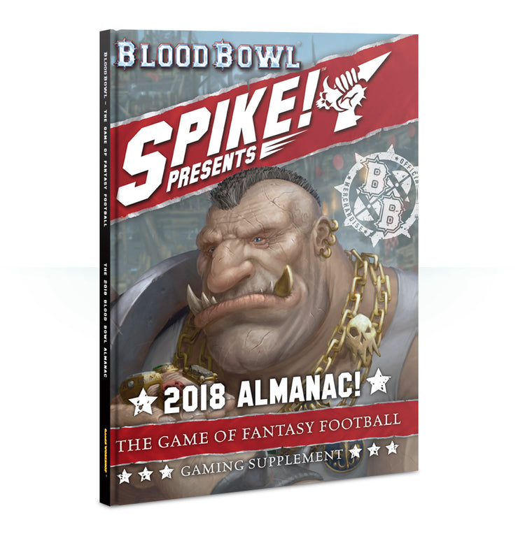 BLOOD BOWL: SPIKE! 2018 ALMANAC! (ENG)