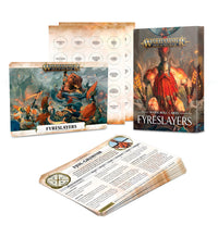 WARSCROLL CARDS: FYRESLAYERS (ENGLISH)