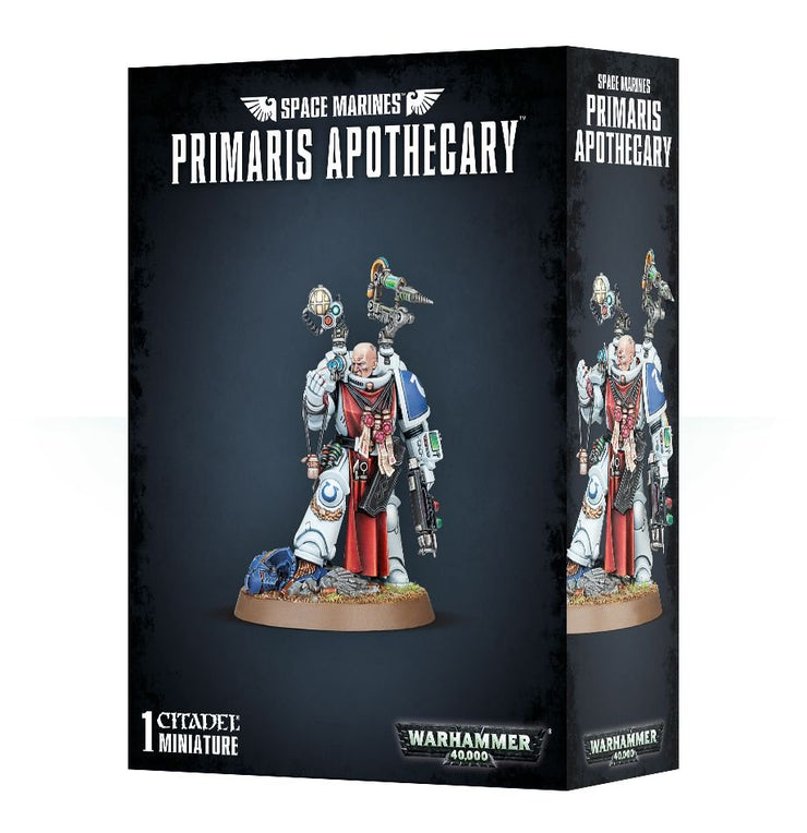 SPACE MARINES PRIMARIS APOTHECARY
