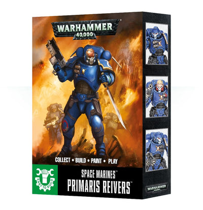 EASY TO BUILD SPACE MARINE PRIMARIS REIVERS