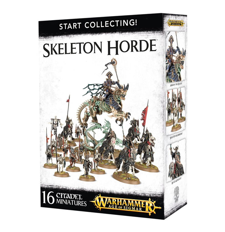 START COLLECTING! SKELETON HORDE