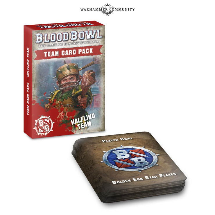 BLOOD BOWL HALFLING TEAM CARD PACK (ENG)