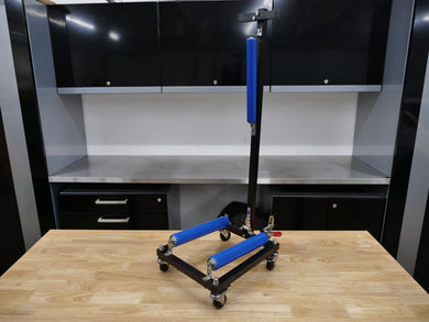 CycloShine Pro Wheel Detailing Stand - Frame & Rollers