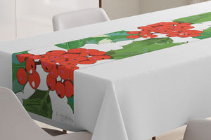 Holly Table Runner designed by Anne Harrington Rees