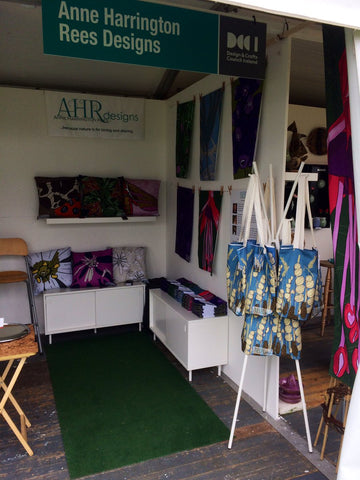 Anne Harrington Rees Designs' stand in the Irish Craft Village at Bloom 2019