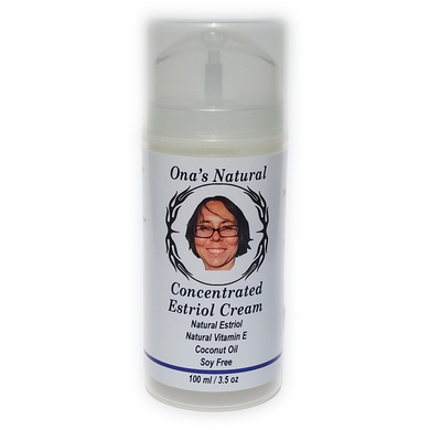 Ona's Natural Estriol Cream - Concentrated - 3.5 oz Pump *NEW*