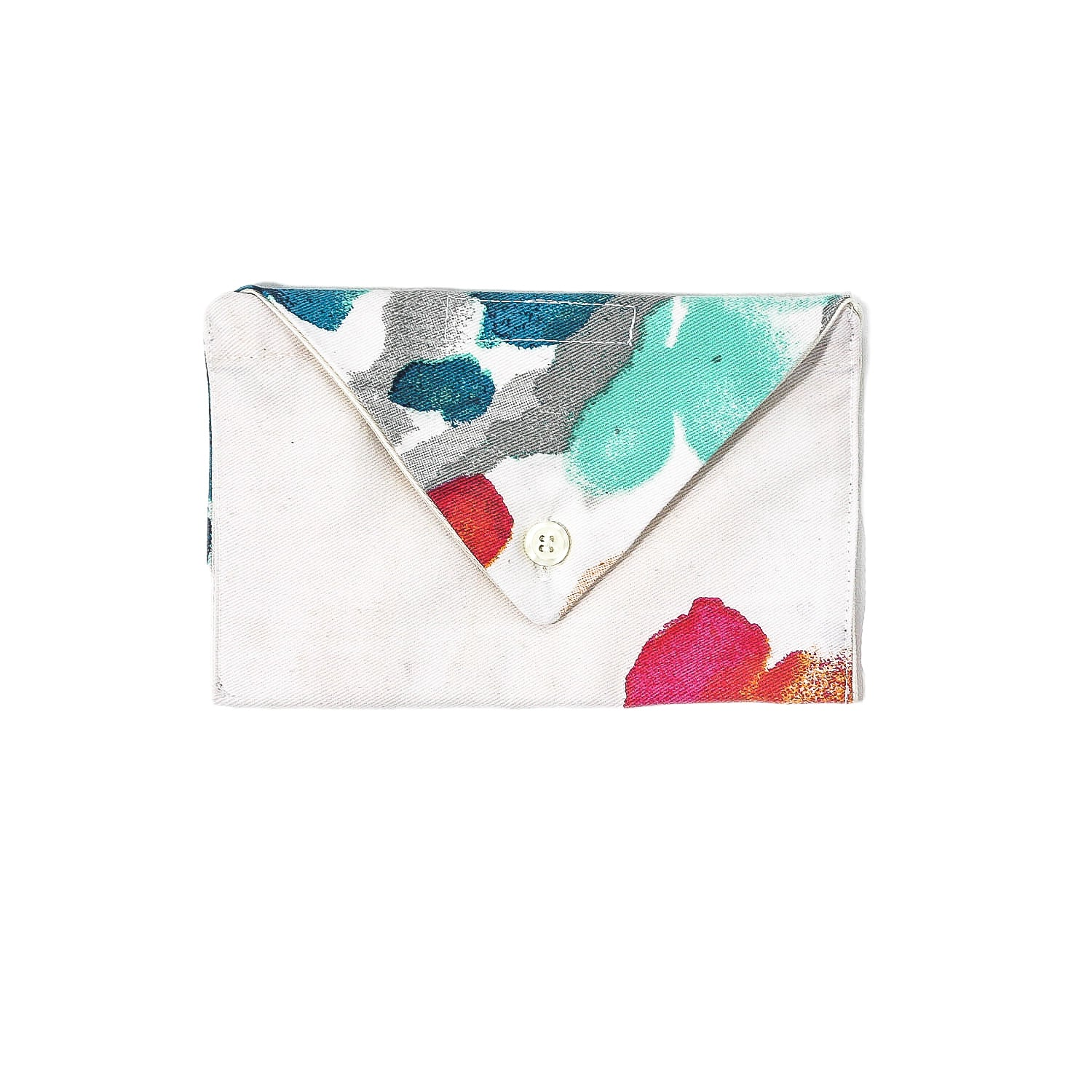 Floral Envelope Wallet