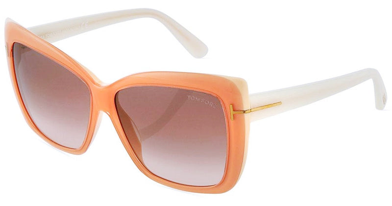 Tom Ford Irina Square Gradient Sunglasses