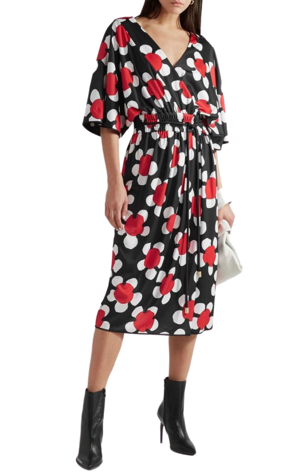 Marc Jacobs 'Daisey' Floral Jersey Midi Dress (more colors)